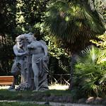Villa Sciarra;  Gruppo statuario - https://www.flickr.com/people/82911286@N03/