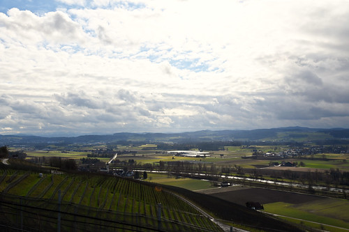 Uesslingen TG - Zehntenhof - Blick ins Thurtal