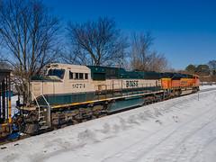 BNSF 9774 (SD70MAC) NS Train:732 Memphis, Tennessee