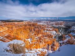 Inspiration Point Bryce Canyon National Park Winter Snow Hoodoos Fuji GFX100 Utah Fine Art Landscape Photography! Elliot McGucken Fine Art American West Landscape Nature Photography! Master Medium Format Fine Art Photographer! Fujifilm GFX 100