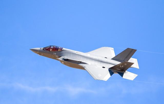 F-35A Flexing.