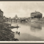 4363 R Roma - Veduta Generale del Ponte e Castel s. Angelo dal Tevere Ricordo di Roma 30 Vedute - https://www.flickr.com/people/76740876@N07/