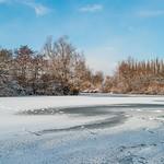 Stanborough Lakes frozen_2 Martin Burrage by Martin Burrage