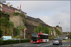 Mercedes-Benz Citaro K – Autocars Delcourt / Tusa (Transports Urbains Saint-Lô Agglo) ex Transdev Saint-Lô n°4305