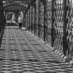 The Statiion Footbridge Martin Burrage by Martin Burrage
