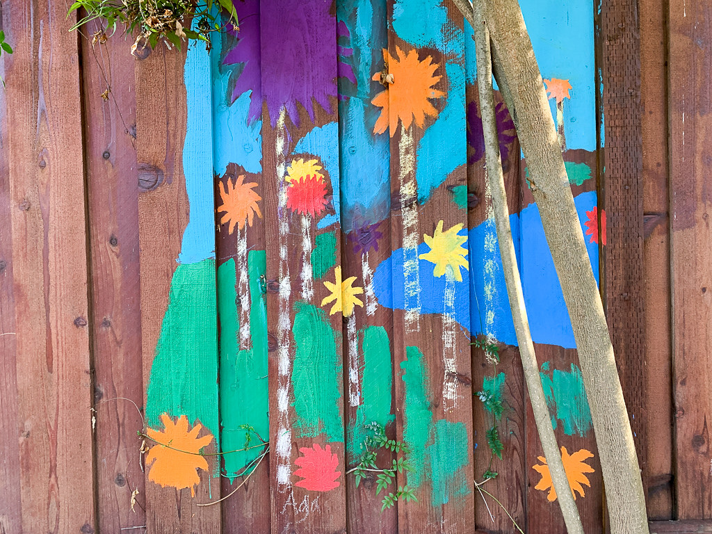 Palm Mural