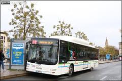 Man Lion's City CNG – Keolis Bordeaux Métropole / TBM (Transports Bordeaux Métropole) n°1710