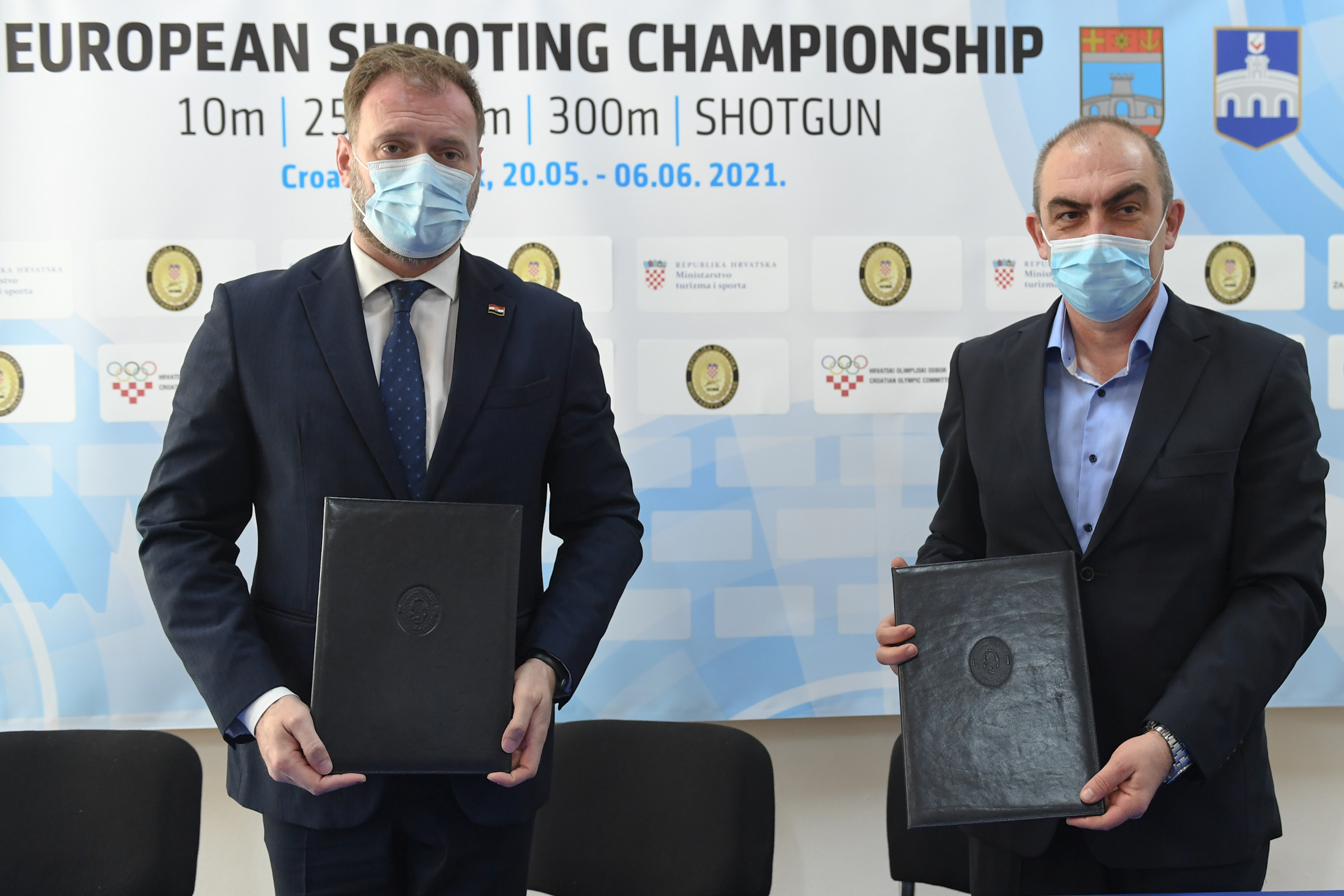 Banožić potpisao Sporazum o potpori Europskom prvenstvu u streljaštvu
