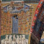 Jerusalem - apsidal arch mosaic, 5thC - Basilica Papale di Santa Maria Maggiore, Rome - https://www.flickr.com/people/11200205@N02/