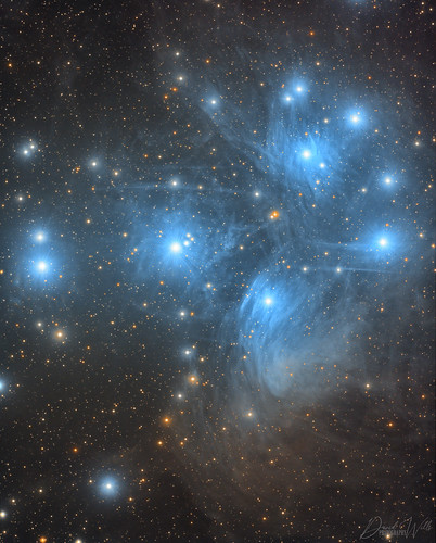The Pleiades M45