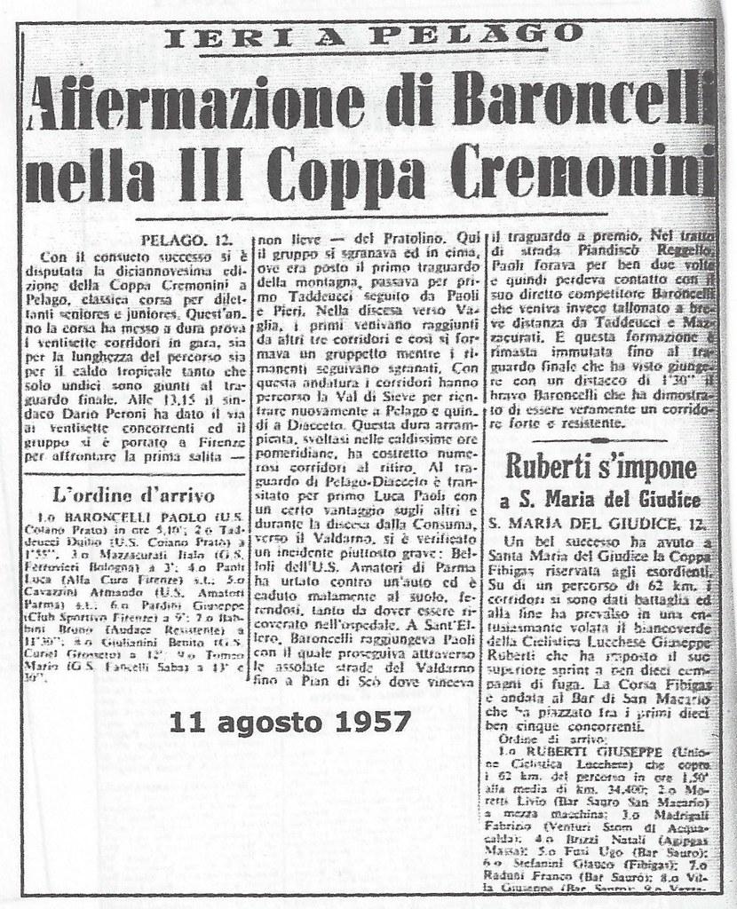 Coppa Cremonini 1957