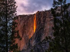 Epic Firefalls! Yosemite Firefall Yosemite National Park Horsetail Falls Yosemite Valley Fire Falls Sunset!  Fuji GFX100 California Fine Art Landscape Photography! Elliot McGucken Fine Art American West Landscape Nature Photography! Master Medium Format