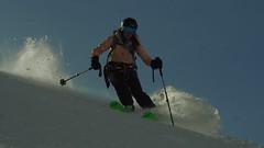 Vallée Noire. Location: Chamonix. Skier: Holly Shelton