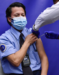 MTA Launches New COVID Vaccination Site for Frontline Employees