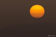 Coucher de soleil dans une atmosphère chargée en s…