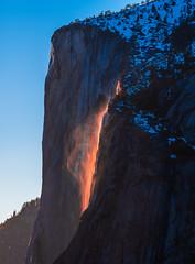 Epic Firefalls! Yosemite Firefall Yosemite National Park Horsetail Falls Yosemite Valley Fire Falls Sunset!  Fuji GFX100 California Fine Art Landscape Photography! Elliot McGucken Fine Art! Fujifilm GFX 100 & Fujinon FUJIFILM GF 250mm f/4 R LM OIS WR Lens