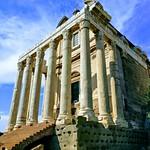 Temple of Antoninus and Faustina - https://www.flickr.com/people/66127269@N00/