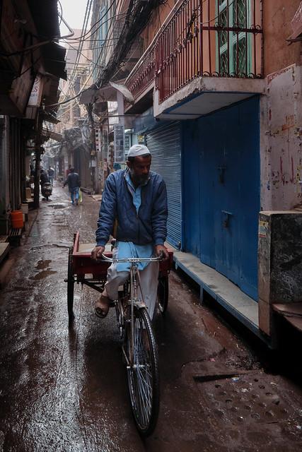 Old Delhi – On his way