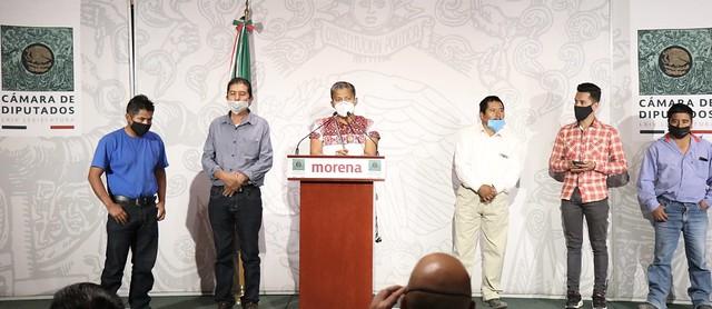15/12/2020 Conferencia De Prensa Diputada Irma Juan Carlos