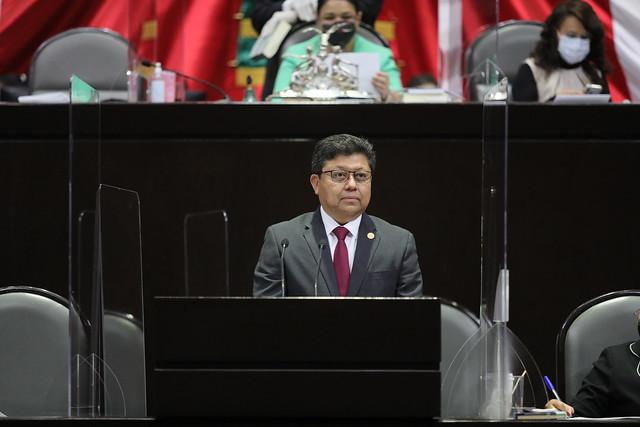 23/02/2021 Tribuna Dip. Rubén Cayetano García