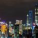 Pudong Night Skyline -  Shanghai, China