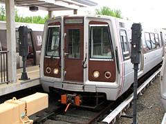 WMATA railcar 5139 at Branch Avenue rail yard [02]