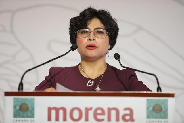 09/02/2021 Conferencia de Prensa Dip. Anita Sánchez Castro