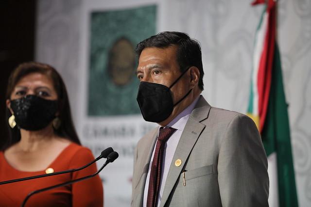 09/02/2021 Conferencia de Prensa Dip. Silvestre López Cornejo