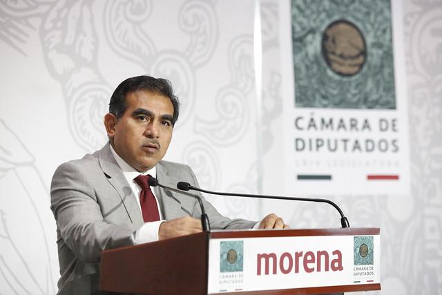 23/02/2021 Conferencia de prensa Dip. Marco Antonio Andrade
