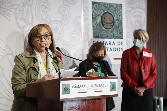 23/02/2021 Conferencia de prensa Dip. Marivel Solís Apoyo a Museos