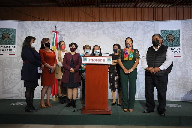 09/02/2021 Conferencia de Prensa Dip. María Eugenia Hernández Pérez