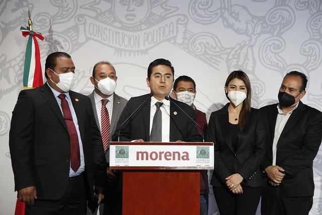 23/02/2021 Conferencia de Prensa Dip. David Orihuela Nava