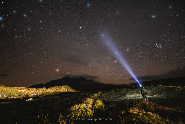 Stars over the Cuillins