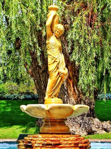 Toronto Ontario ~ Canada ~ Edwards Gardens ~ Botanical Garden ~ Fountain