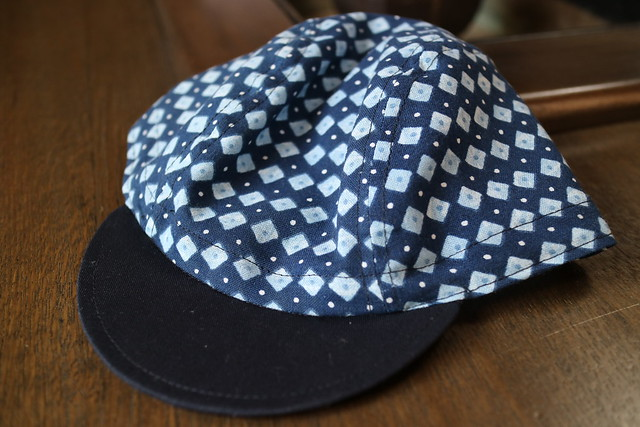 Photo:【 enishi cyclecap 藍染 釘抜きさん type01 + enishi chain stitch 】 By jun.skywalker (enishi hand made cyclecap)