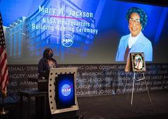 Mary W. Jackson NASA Headquarters Naming Ceremony (NHQ202102260021)