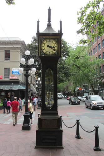 Vancouver's Steam Clock