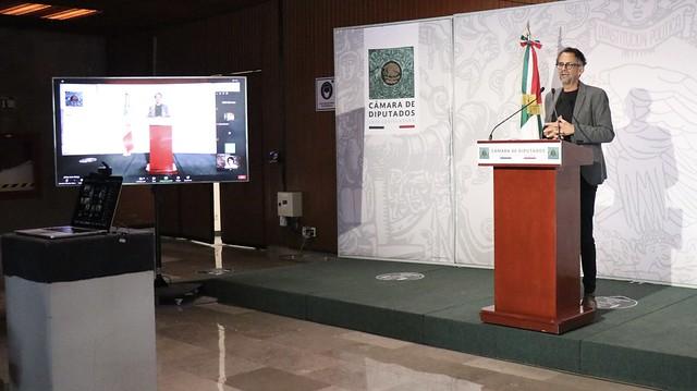 26/02/2021 Conferencia De Prensa Diputado Javier Hidalgo Ponce