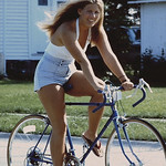 linda bike riding
