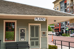 Texas Electric Railway - Haggard Park - Plano