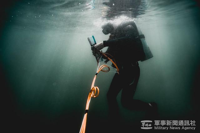 水下作業大隊械彈處理專精班