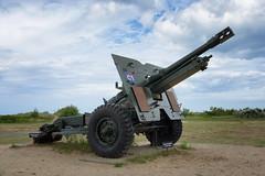 The Juno Beach Centre 25 pounder gun