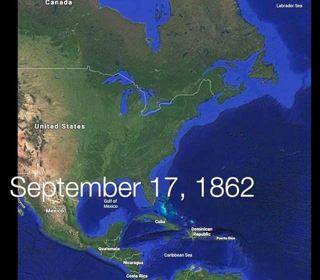 Photo:352a. HLJ2 google map September 17 1862 By Jim Surkamp