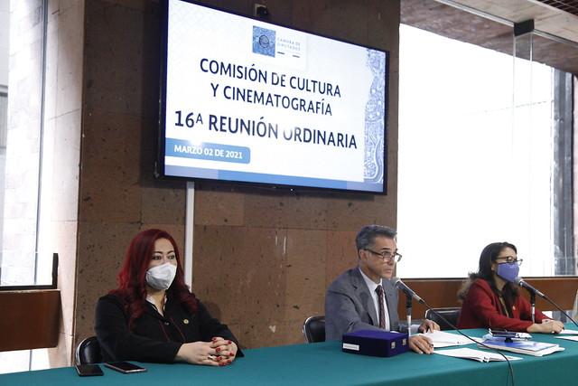 02/03/2021 Comisión De Cultura Y Cinematografia