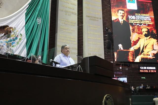 02/03/2021 Tribuna Diputado Javier Borrego Adame