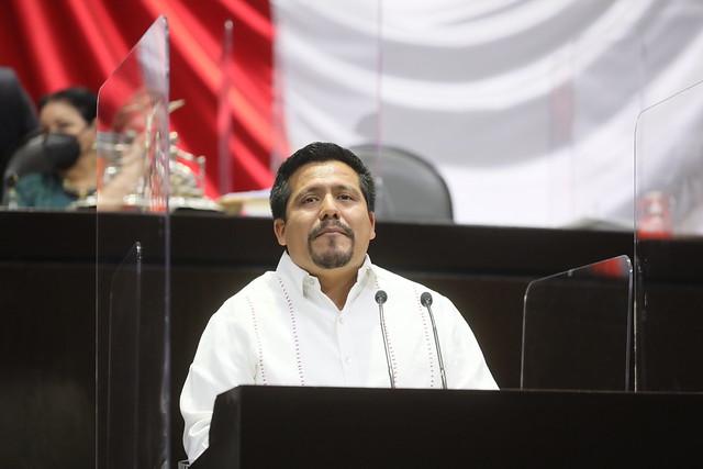 02/03/2021 Tribuna Diputado Irán Santiago Manuel