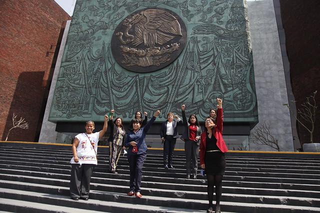 02/03/2021 Diputadas Morena Pronunciamiento Día Mujer