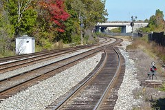 CSX Capital Subdivision tracks