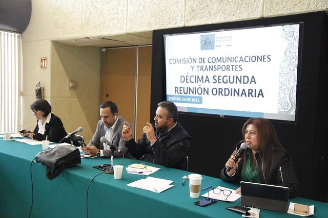 24/02/2021 Comisión De Comunicaciones Y Transportes