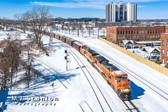 BNSF 9140 | EMD SD70ACe | BNSF Thayer South Subdivision
